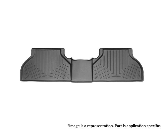 WeatherTech DigitalFit Floor Mats for X5/X6 [Covers Rear, Black] (WEA95400)
