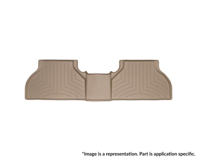 WeatherTech DigitalFit Floor Mats for MDX/Pilot [Covers Rear, Tan] (WEA95808)