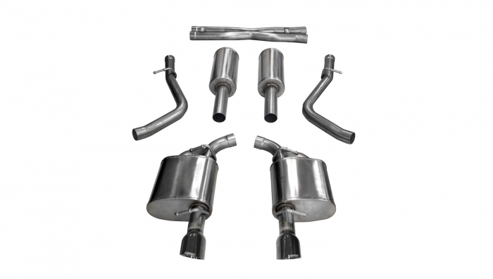 Corsa 21004BLK Xtreme Cat-Back Exhaust System