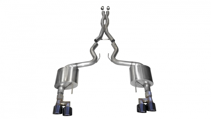Corsa 21040BLK Xtreme Cat-Back Exhaust System