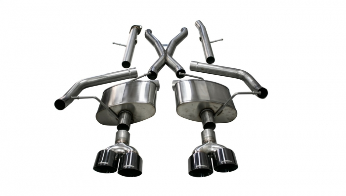 Corsa 21052BLK Xtreme Cat-Back Exhaust System