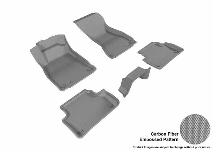 3D MAXpider Audi A4 Quattro Floor Mats