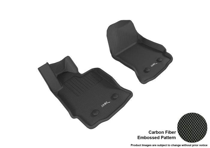 3D MAXpider Chevrolet Corvette Floor Mats