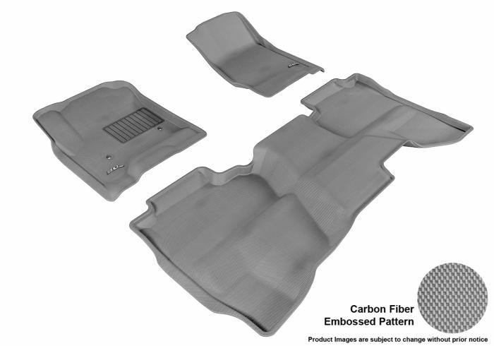 3D MAXpider Chevrolet Silverado 3500 HD Floor Mats
