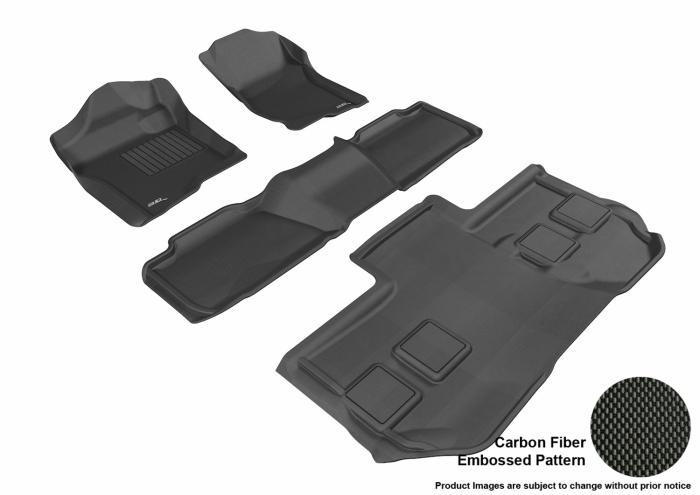 3D MAXpider Chevrolet Suburban 2500 Floor Mats