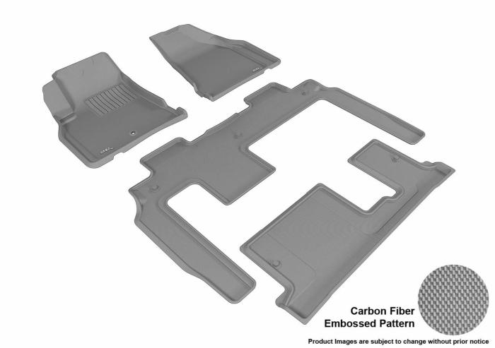 3D MAXpider Chevrolet Traverse Floor Mats