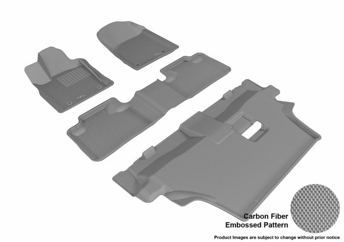 3D MAXpider Dodge Durango Floor Mats