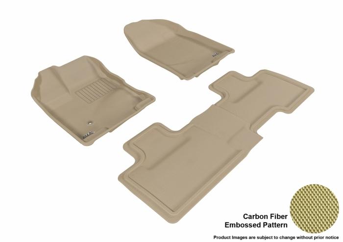 3D MAXpider Ford Edge Floor Mats