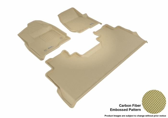 3D MAXpider Ford F-350 Super Duty Floor Mats