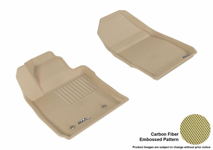 3D MAXpider Ford Fiesta Floor Mats