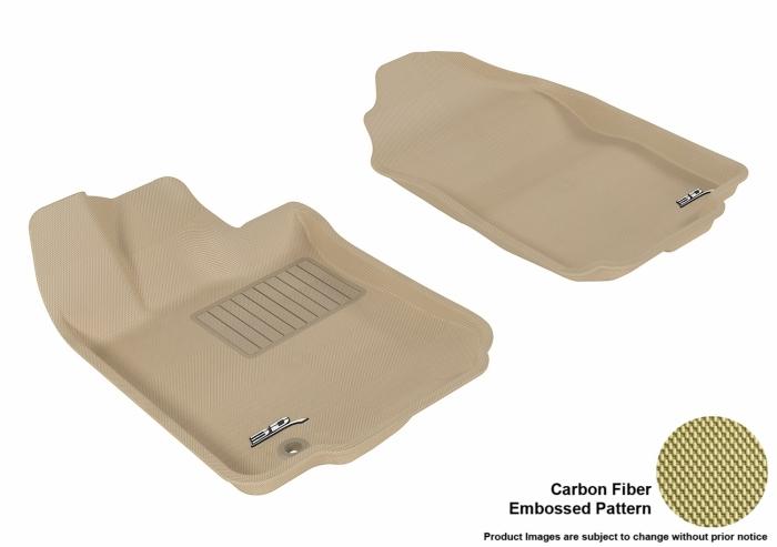3D MAXpider Ford Fusion Floor Mats