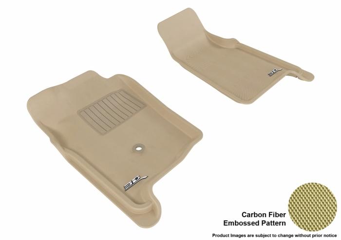 3D MAXpider Ford Ranger Floor Mats
