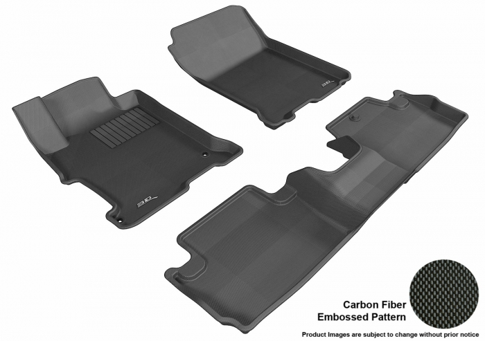 3D MAXpider Honda Accord Floor Mats