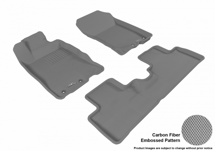 3D MAXpider Honda Insight Floor Mats