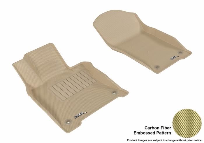 3D MAXpider Infiniti Q50 Floor Mats