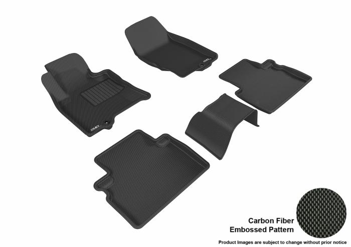 3D MAXpider Infiniti QX50 Floor Mats