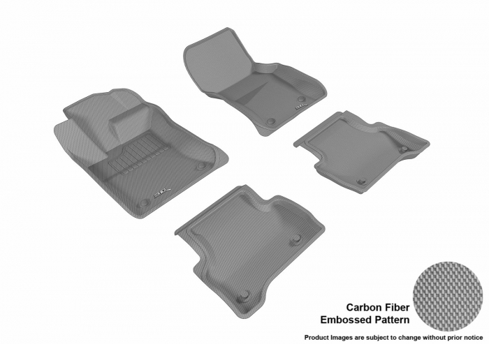 3D MAXpider Jaguar XE Floor Mats