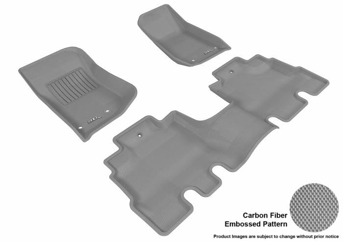 3D MAXpider Jeep Wrangler Floor Mats
