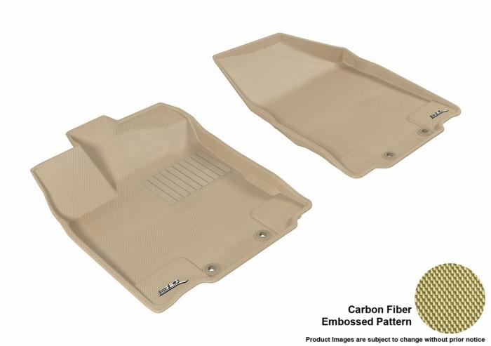 3D MAXpider Nissan Pathfinder Floor Mats