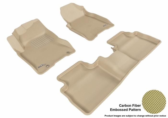 3D MAXpider Nissan Rogue Floor Mats