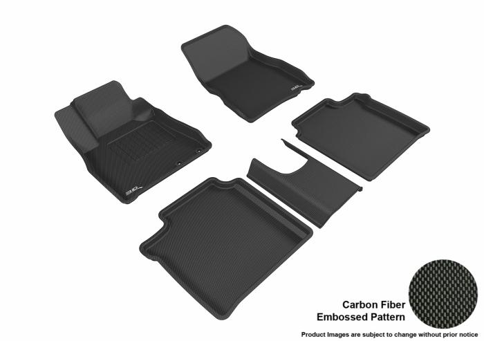 3D MAXpider Nissan Versa Note Floor Mats
