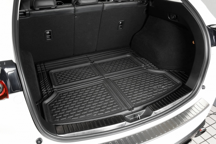 Universal cargo liner design fits most vehicles