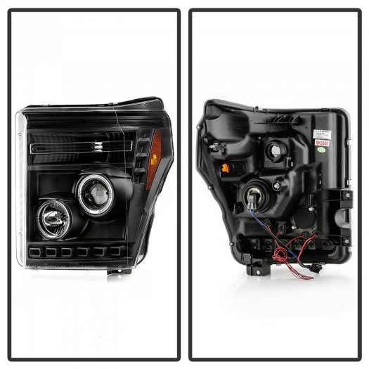 Spyder 5086013 Halo LED Projector Headlights