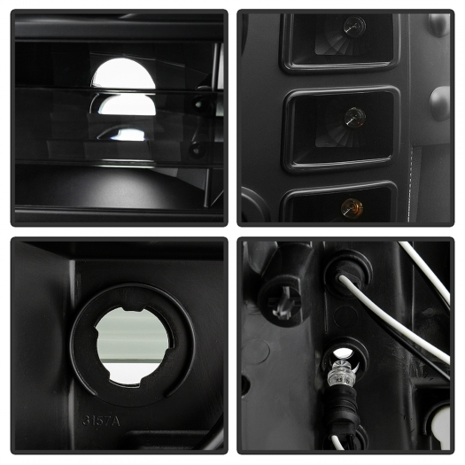 Spyder 5086020 Halo LED Projector Headlights
