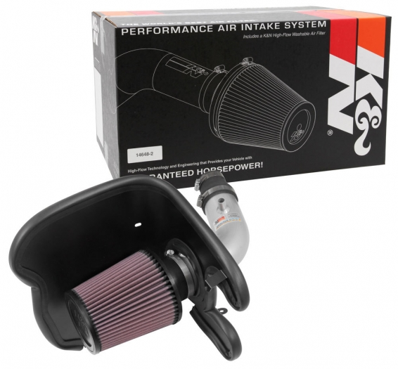 K&N 69-4537TS Engine Cold Air Intake Performance Kit