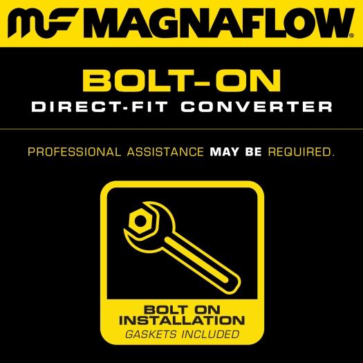 MagnaFlow 551519 Direct-Fit Catalytic Converter