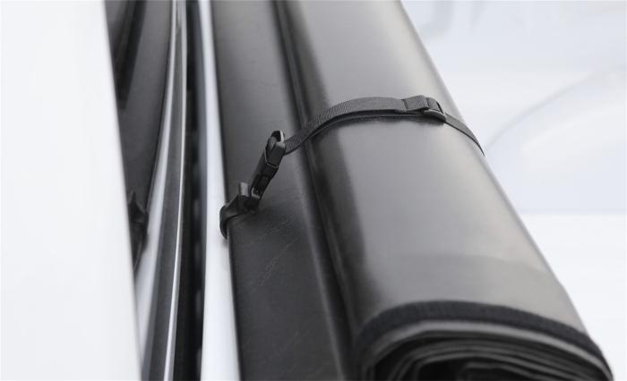 Secures easily near the rear window
