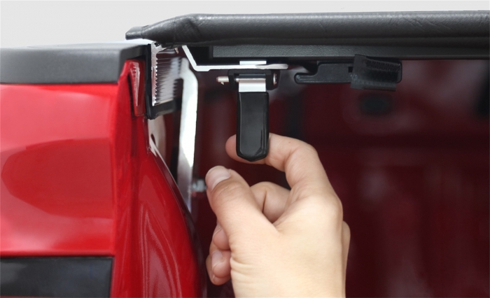 Easy to use lock and latch system