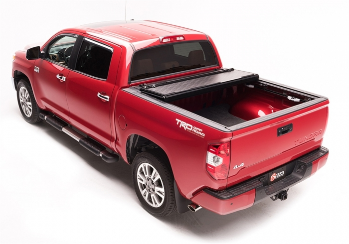 G2 tonneau partially opened