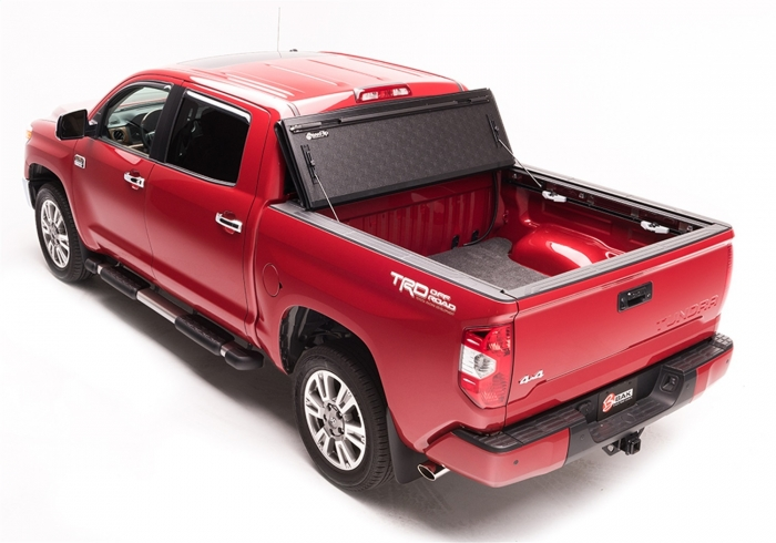 G2 tonneau fully opened