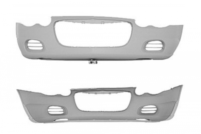 Bumper Cover Replacement - CH1000401