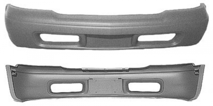 Bumper Cover Replacement - GM1000556