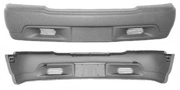 Bumper Cover Replacement - GM1000557