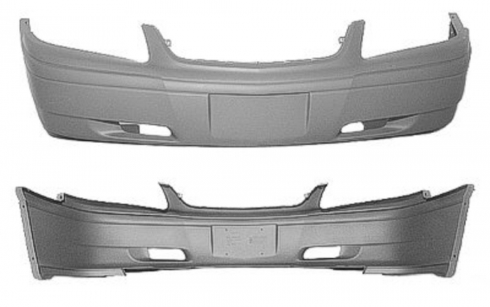 Bumper Cover Replacement - GM1000585