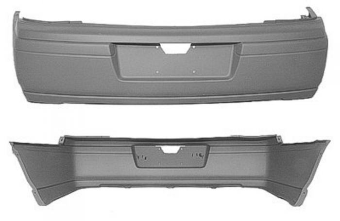 Bumper Cover Replacement - GM1100579