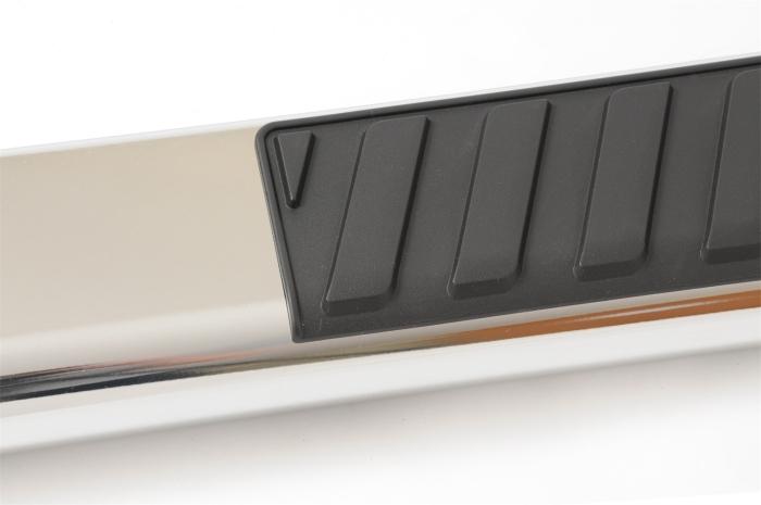 Close up of step pad
