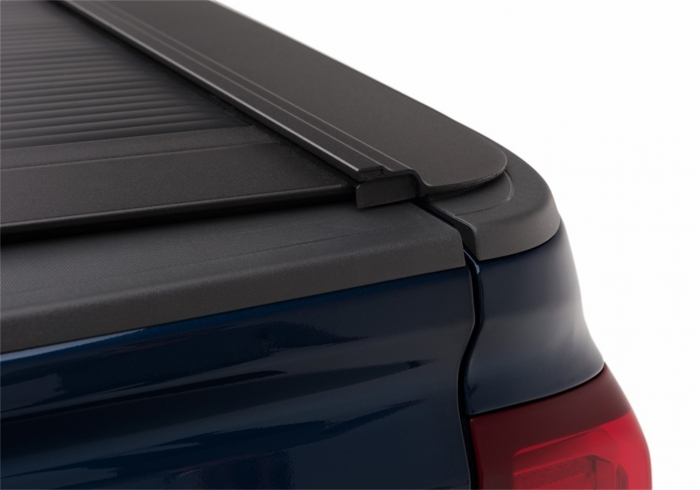 Close up of tonneau corners