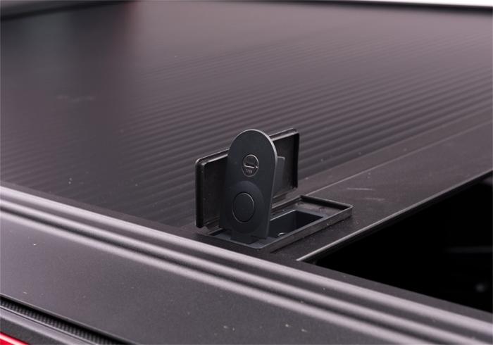 Close up of key lock