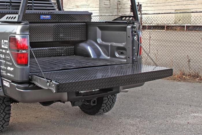 Dee Zee DZ4144B Black Tread Full Tailgate Protector