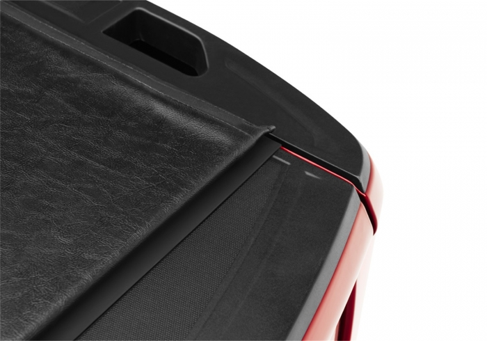 Close up of tonneau corner