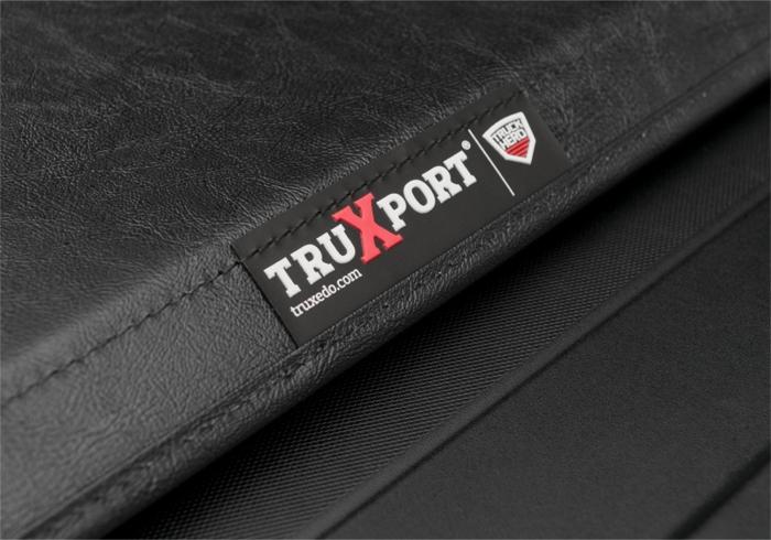 Close up of TruXport badge