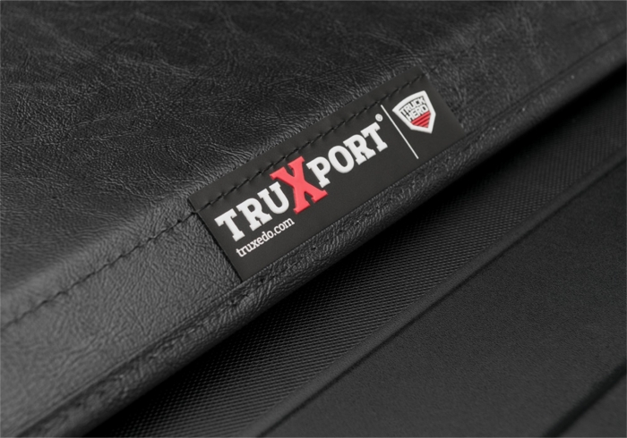 Close up of TruXport badge