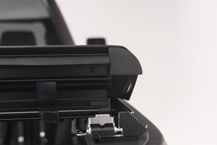 Close up of latching system