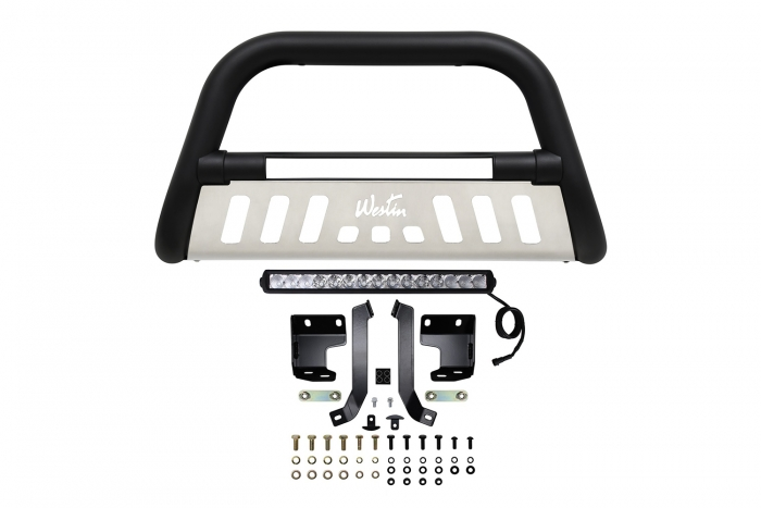 Black Ultimate LED Bull Bar