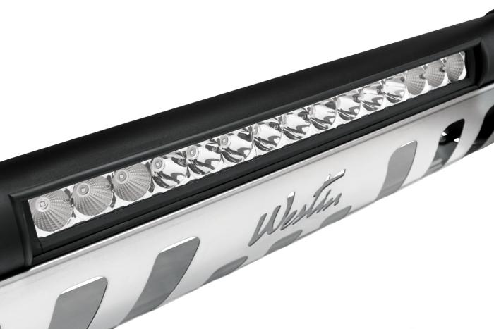 Close up of light bar