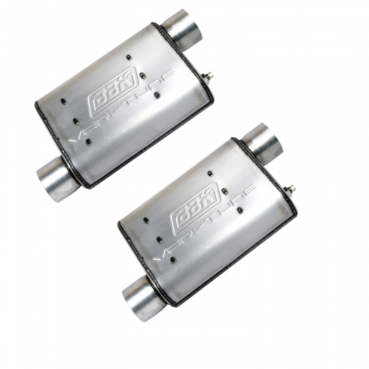 BBK Vari-Tune Adjustable Cat Back Exhaust System